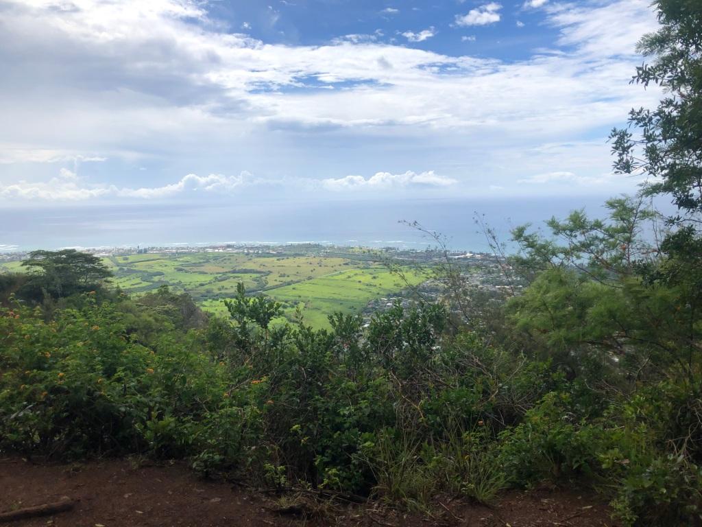 View from Sleeping Giant Kauai Hawaii